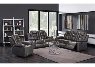 Dark Grey Sofa & Loveseat