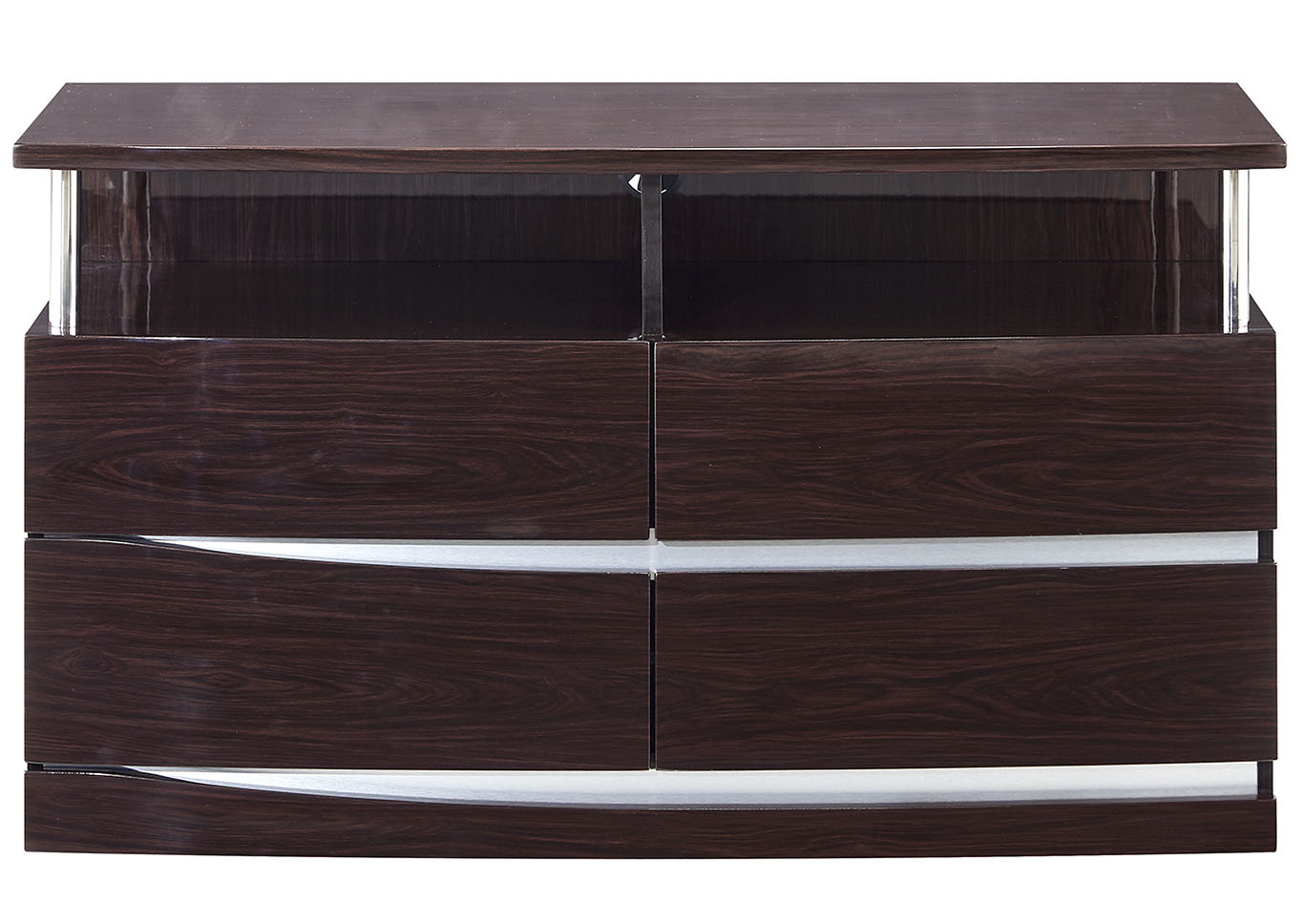 Aurora Wenge Entertainment Unit,Global Furniture USA