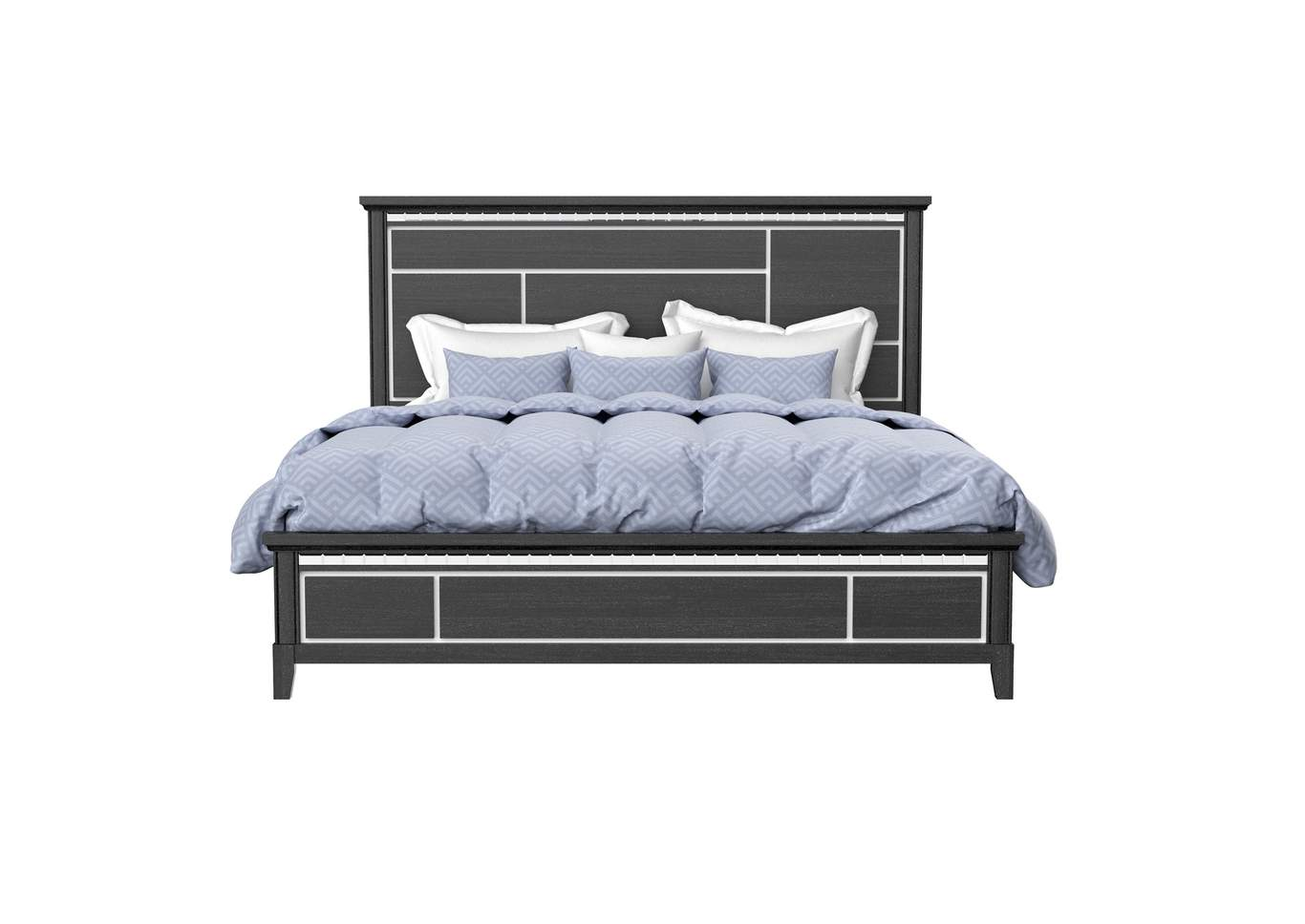 Black Queen Bed,Global Furniture USA