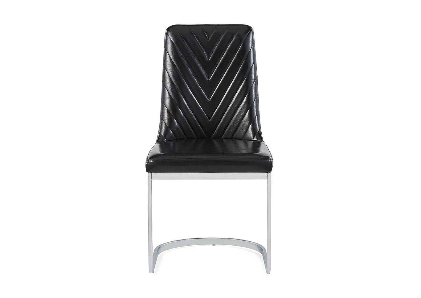 Black Dining Chair (Set of 2),Global Furniture USA