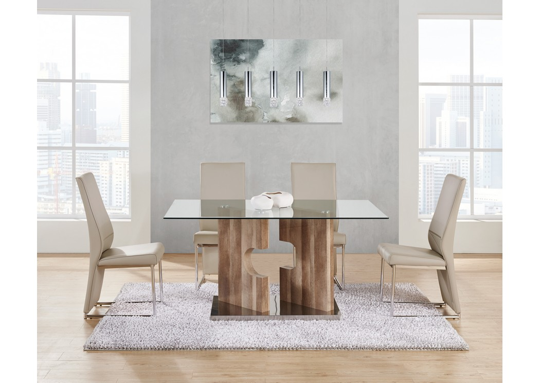 4 dining chairs clearance brown glasstop dining table w4 chairsglobal furniture usa all brands edison greenbrook north brunswick perth
