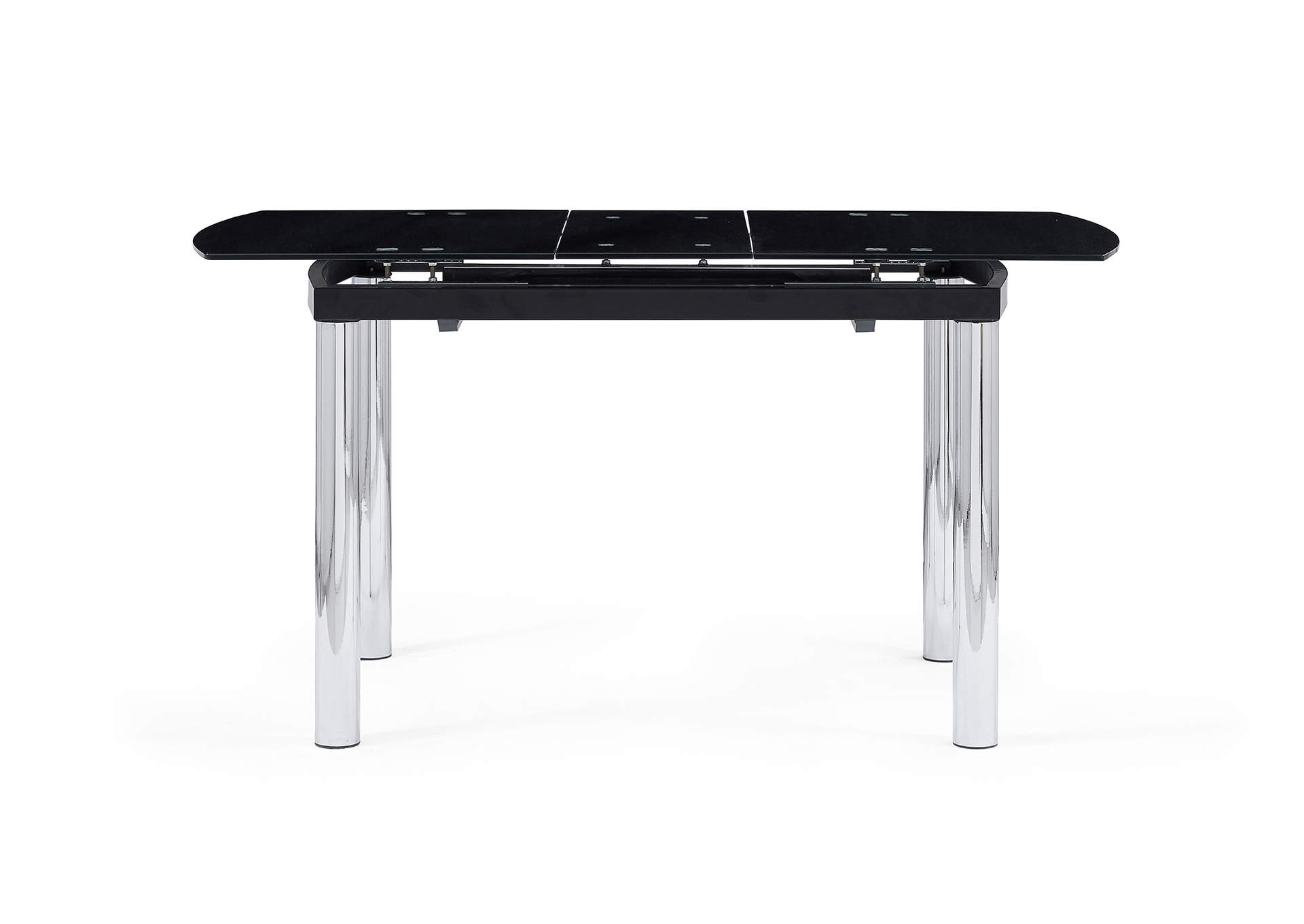 Black Glass Dining Table,Global Furniture USA