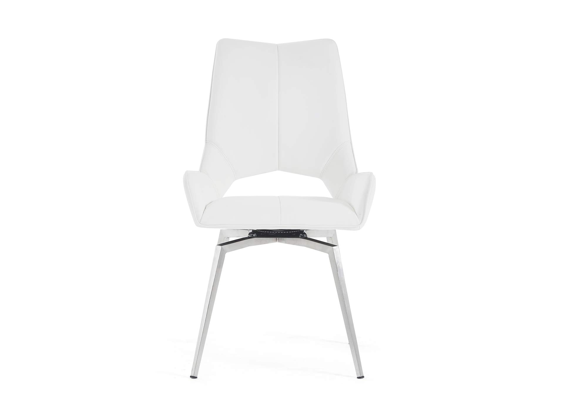 White Dining Chair (Set of 2),Global Furniture USA