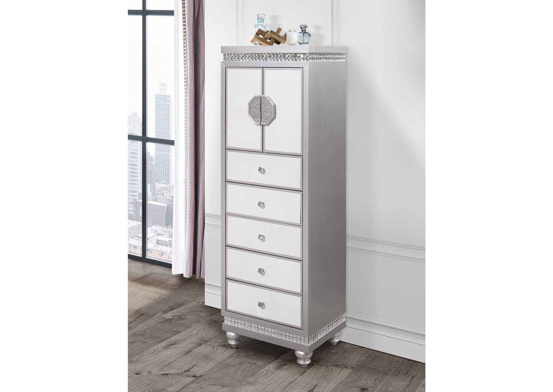 Kylie Lingerie Chest,Global Furniture USA