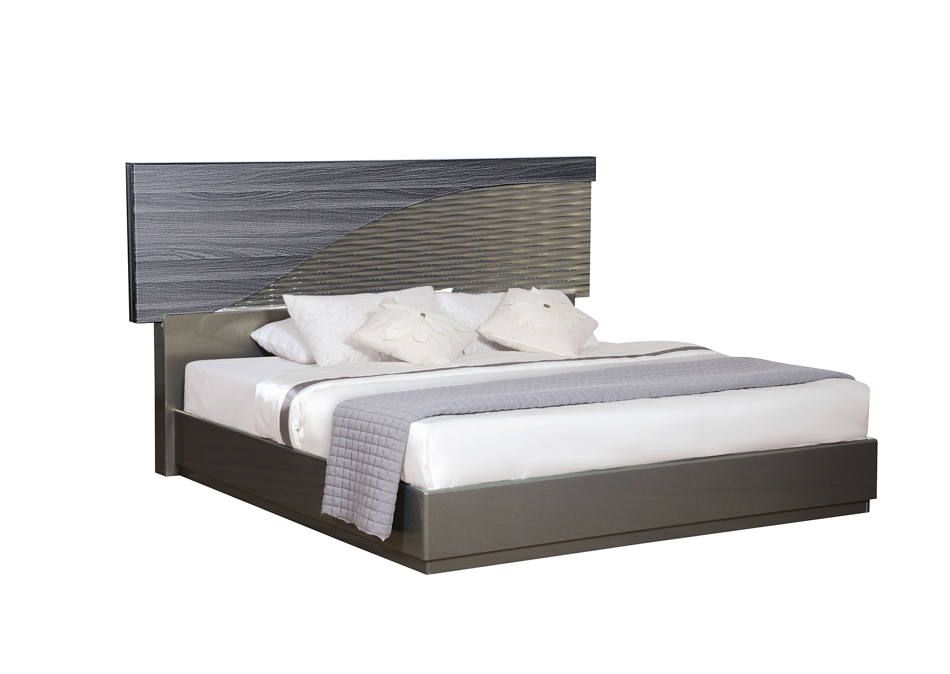 North Gold Queen Bed,Global Furniture USA