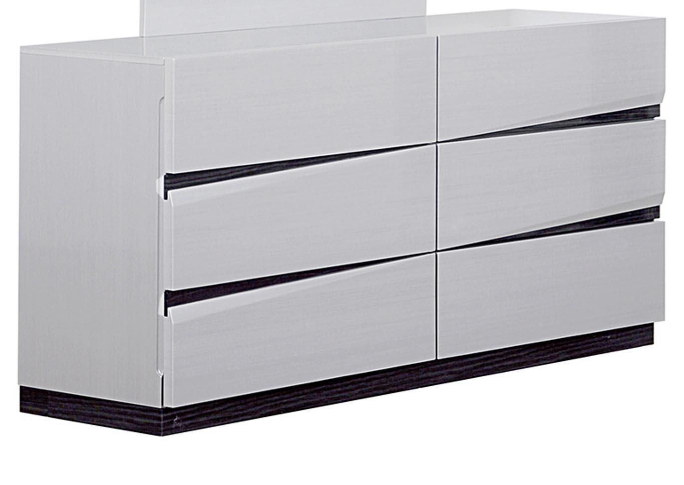 Scarlett Silverline/Zebra Grey Dresser,Global Furniture USA