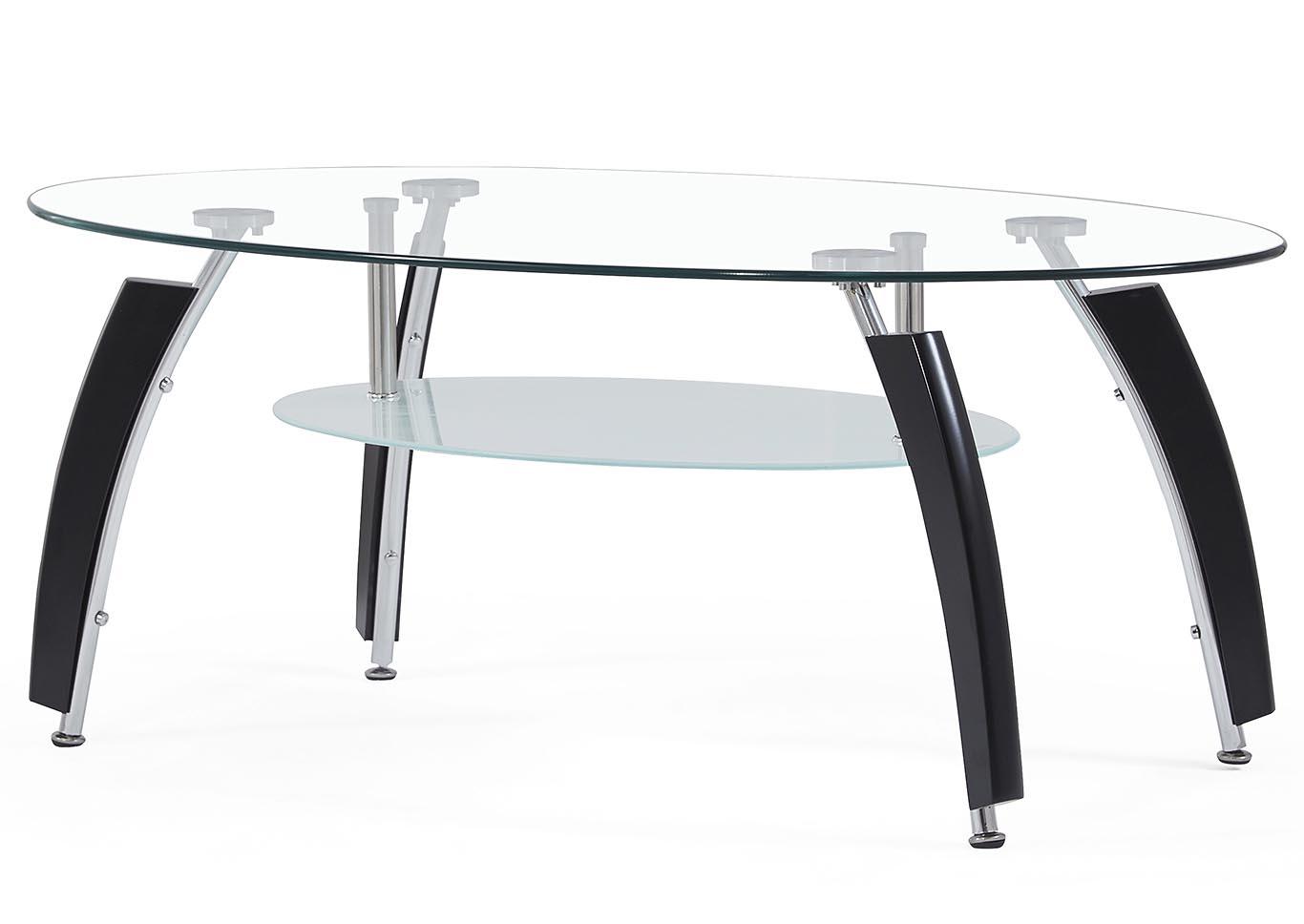 Black Coffee Table,Global Furniture USA