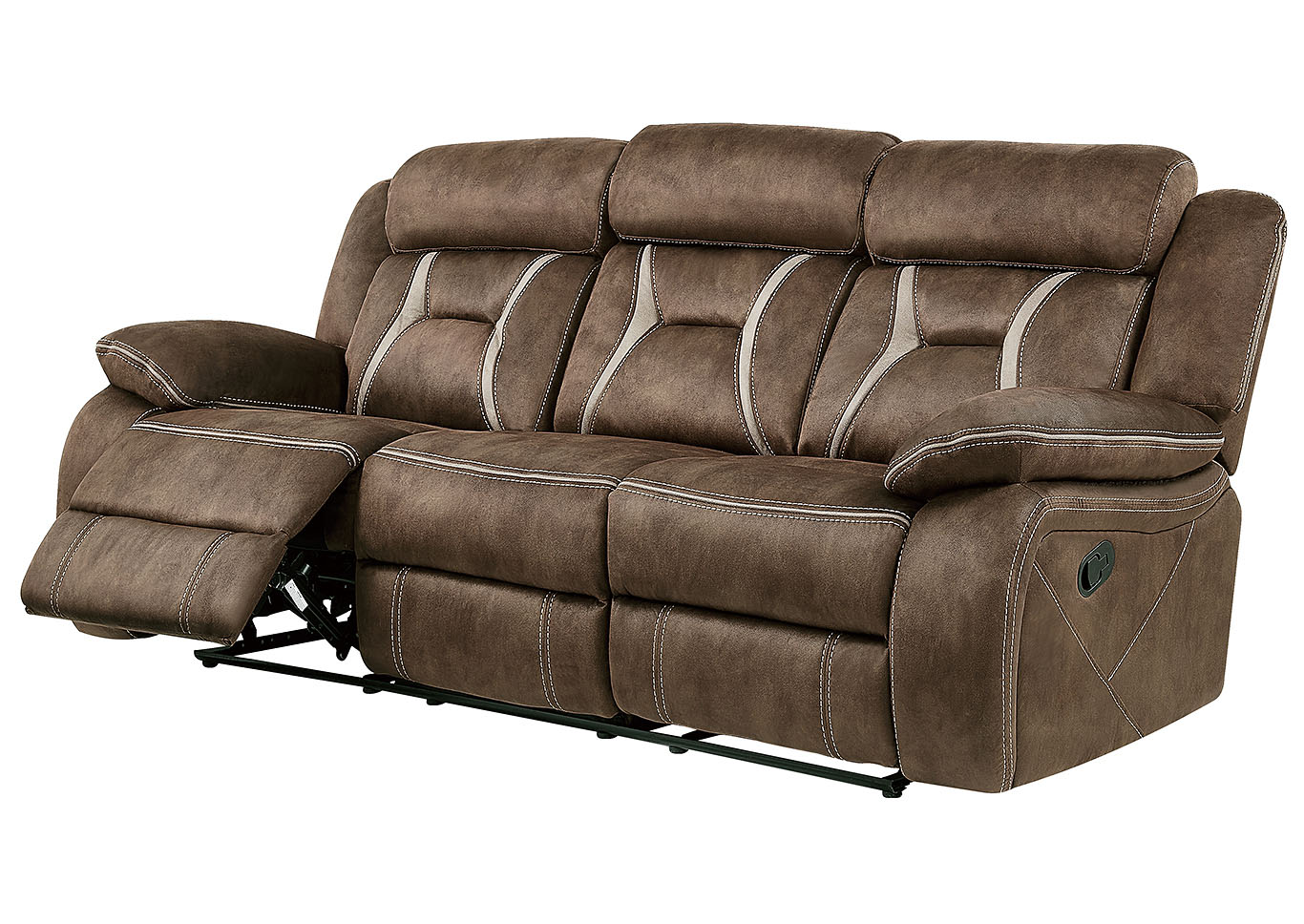 Astonishing Sell A Cow Furniture Il Sultry Dark Brown Pecan Reclining Sofa Pdpeps Interior Chair Design Pdpepsorg