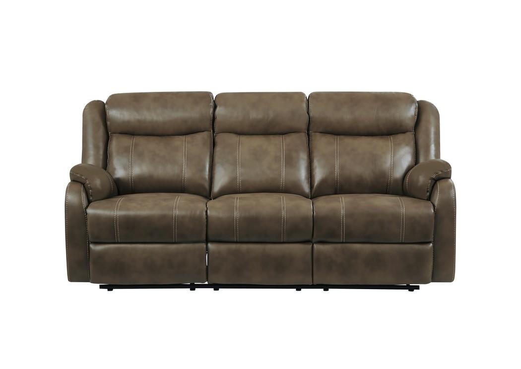 Galaxy Furniture Chicago Il Blanche Walnut Reclining Sofa W Drop