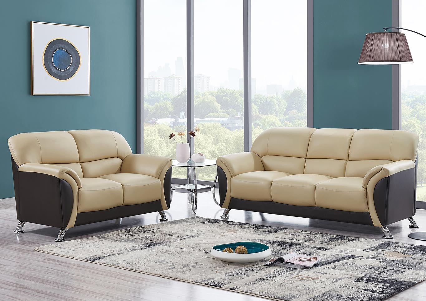 Cappuccino Chocolate Sofa Loveseat Best Buy Furniture And Mattress