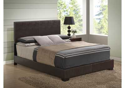 Image for 8103 Brown Gloss Queen Bed