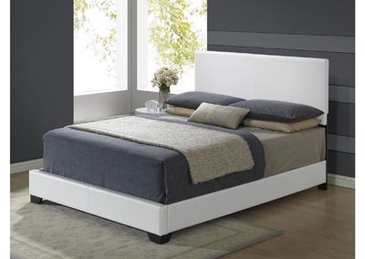 Image for 8103 White Gloss Queen Bed