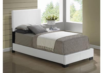 Image for 8103 White Gloss Twin Bed