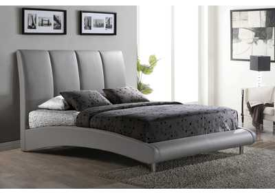 Image for 8272 Matte Grey Queen Bed
