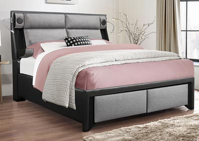 Image for 9652 Black King Bed