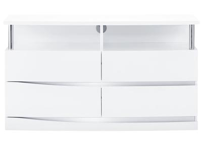 Aurora White Entertainment Unit