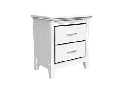 Image for Ava White Nightstand