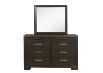 Image for Ayden Antique Espresso Dresser and Mirror