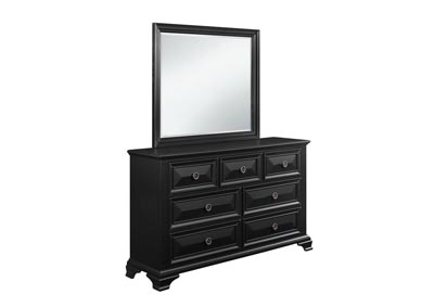 Image for Carter Black Dresser and Mirror