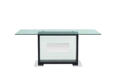 Image for D1182DT Black High Gloss / Mirror Dining Table