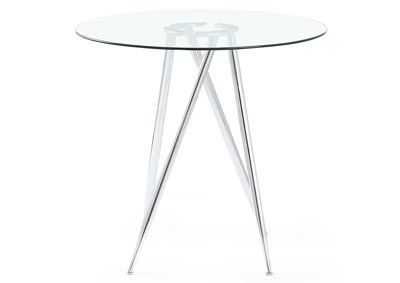 Clear Bar Table