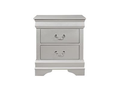 Marley Silver Nightstand