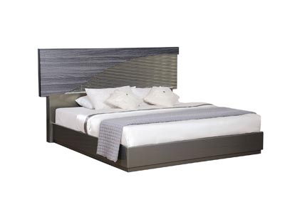 North Gold Queen Bed