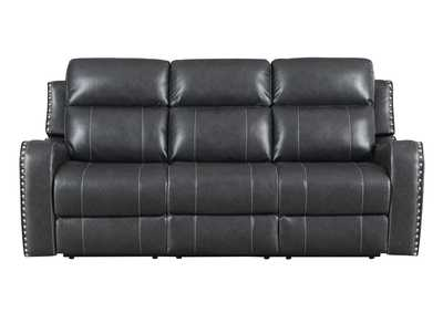 Image for U131 Charcoal Reclining Sofa