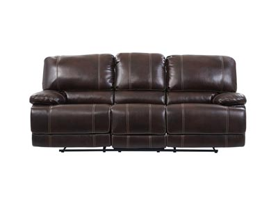 Agnes Coffee Reclining Sofa