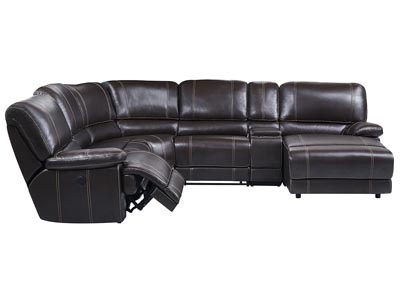 Image for U1953 Brown 6 Pieces Sectional