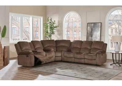 Subaru Coffee 3 Piece Sectional