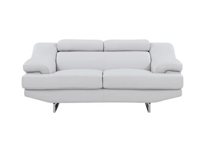 Natalie Light Grey Loveseat