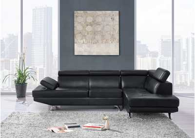 Image for U9782 Black 2 Piece Sectional