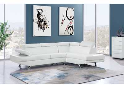 Image for U9782 White 2 Piece Sectional