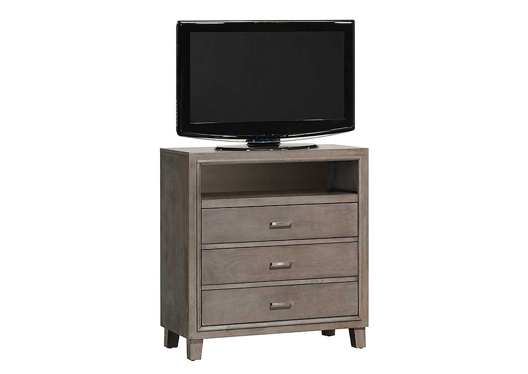 Gray TV Chest,Glory Furniture