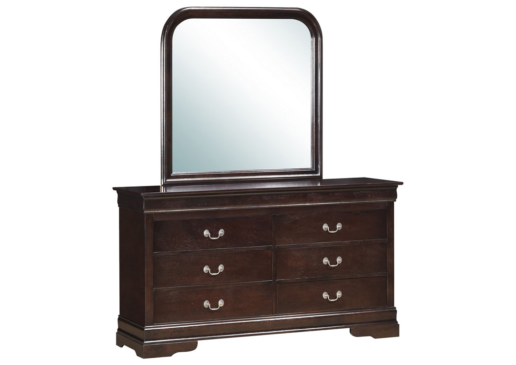 Cappuccino Dresser,Glory Furniture