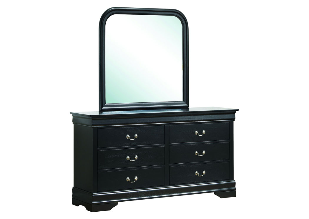 Black Dresser,Glory Furniture
