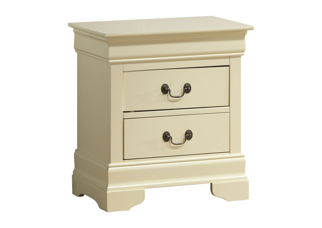 Beige Nightstand,Glory Furniture