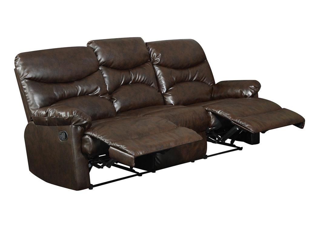 Bayshore Furniture Bayshore Ny Brown Bonded Leather