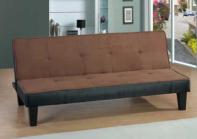 Chocolate Sofa Bed