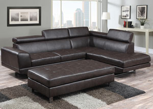 Cappuccino Sectional