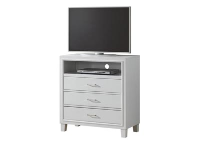 Image for White TV Chest