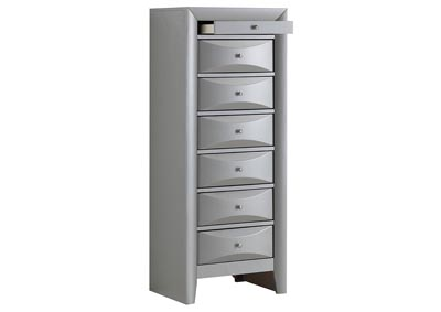 Silver 7 Drawer Lingerie Chest
