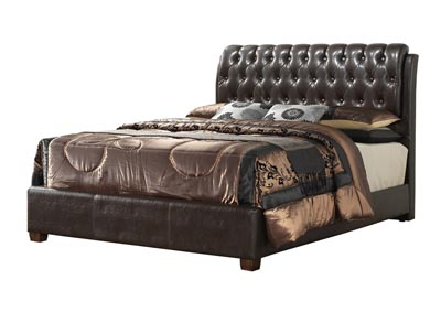 Image for Cherry King Upholstered Bed