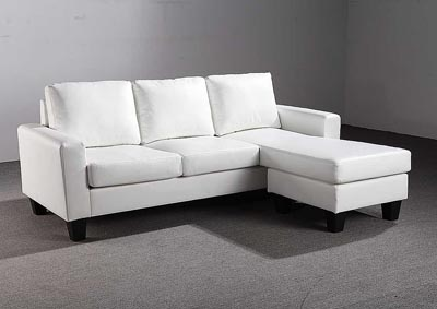 White Sofa Chaise