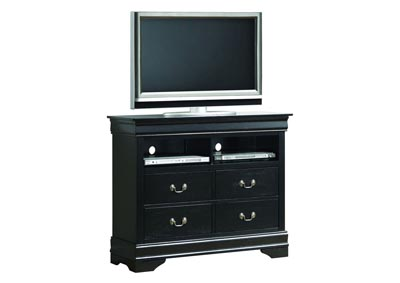 Black TV Chest