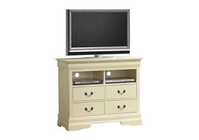 Beige TV Chest