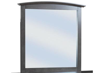 Image for Gray Arched Dresser Mirror