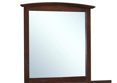 Image for Cappuccino Arched Dresser Mirror