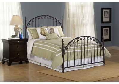 Kirkwell King Bed w/Rails